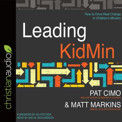 Leading KidMin by Pat Cimo audiobook