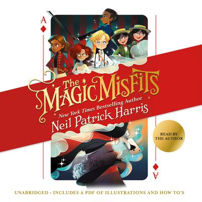 The Magic Misfits by Neil Patrick Harris audiobook