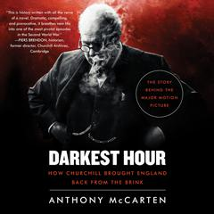 Darkest Hour by Anthony McCarten audiobook