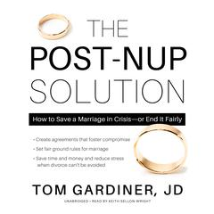 The Post-Nup Solution by Tom Gardiner audiobook