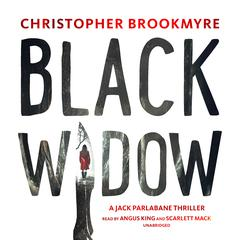 Black Widow by Christopher Brookmyre audiobook