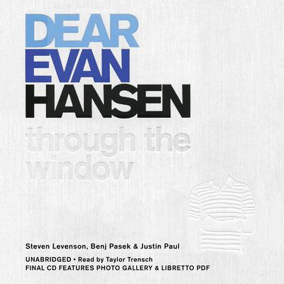 Dear Evan Hansen by Steven Levenson audiobook