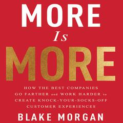 More is More by Blake Morgan audiobook