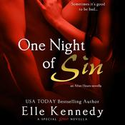 One Night of Sin by  Elle Kennedy audiobook