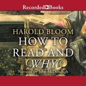 How to Read and Why by  Harold Bloom audiobook