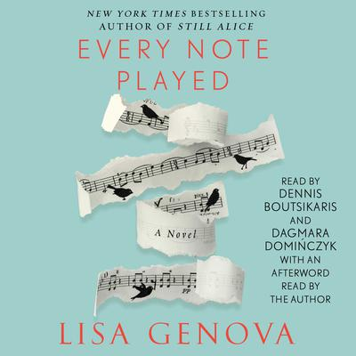 Every Note Played by Lisa Genova audiobook