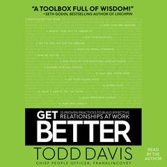 Get Better by Todd Davis audiobook