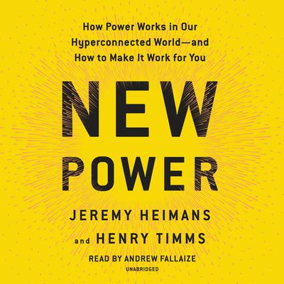 New Power by Jeremy Heimans audiobook