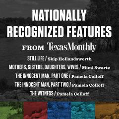 Nationally Recognized Features from Texas Monthly by various authors audiobook