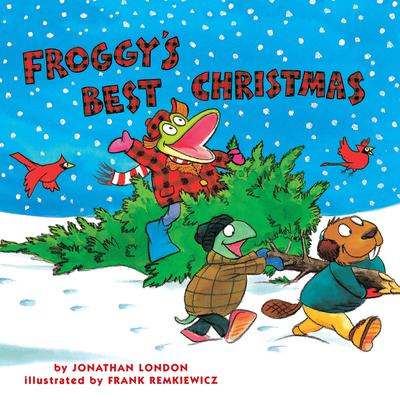 Froggy's Best Christmas by Jonathan London audiobook
