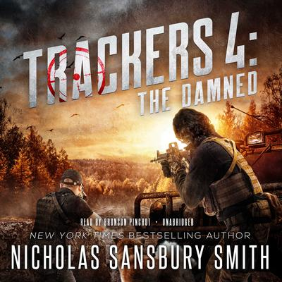Trackers 4: The Damned by Nicholas Sansbury Smith audiobook