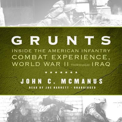 Grunts by John C. McManus audiobook