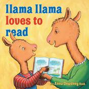 Llama Llama Loves to Read by  Anna Dewdney audiobook