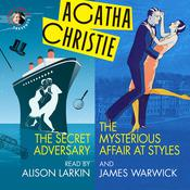 The Secret Adversary and The Mysterious Affair at Styles by  Agatha Christie audiobook