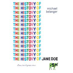 The History of Jane Doe by Michael Belanger audiobook