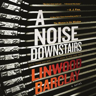 A Noise Downstairs by Linwood Barclay audiobook