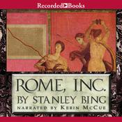 Rome, Inc by  Stanley Bing audiobook