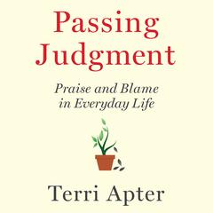 Passing Judgment by Terri Apter audiobook