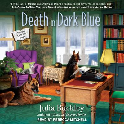 Death in Dark Blue by Julia Buckley audiobook
