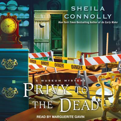 Privy to the Dead by Sheila Connolly audiobook