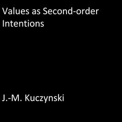 Values as Second-order Intentions