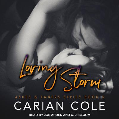 Loving Storm by Carian Cole audiobook