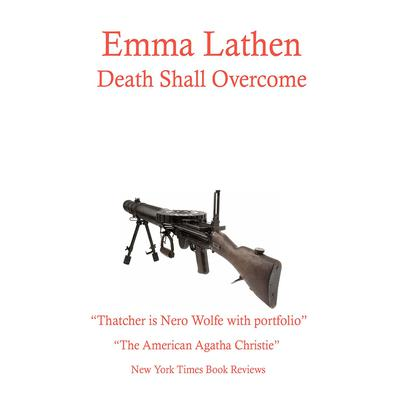 Death Shall Overcome by Emma Lathen audiobook