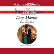 One Night Heir by  Lucy Monroe audiobook