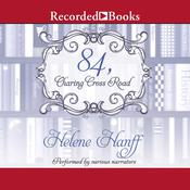 84, Charing Cross Road by  Helene Hanff audiobook