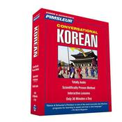 Pimsleur Korean Conversational Course - Level 1 Lessons 1-16 by  Dr. Paul Pimsleur audiobook