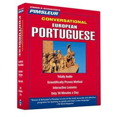 Pimsleur Portuguese (European) Conversational Course - Level 1 Lessons 1-16 by Paul Pimsleur audiobook