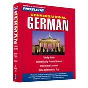 Pimsleur German Conversational Course - Level 1 Lessons 1-16 by  Pimsleur audiobook