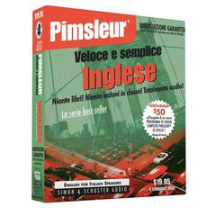 Pimsleur English for Italian Speakers Quick & Simple Course - Level 1 Lessons 1-8 by Paul Pimsleur audiobook
