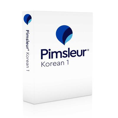 Pimsleur Korean Level 1 by Paul Pimsleur audiobook