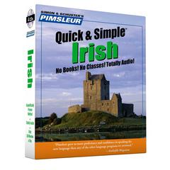 Pimsleur Irish Quick & Simple Course - Level 1 Lessons 1-8