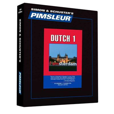 Pimsleur Dutch Level 1 by Paul Pimsleur audiobook