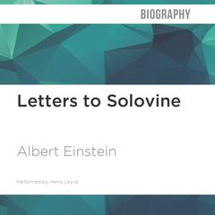 Letters to Solovine by Albert Einstein audiobook