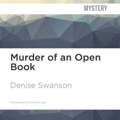 Murder of an Open Book by Denise Swanson audiobook
