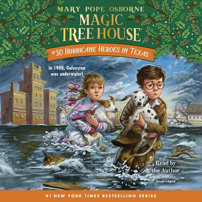 Hurricane Heroes in Texas by Mary Pope Osborne audiobook