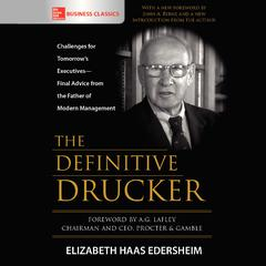 The Definitive Drucker by Elizabeth Hass Edersheim audiobook