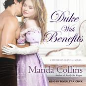 Duke with Benefits by  Manda Collins audiobook