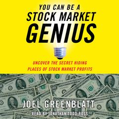 You Can Be a Stock Market Genius by Joel Greenblatt audiobook