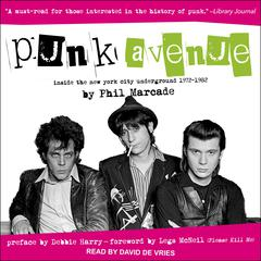 Punk Avenue by Phil Marcade audiobook
