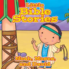 Little Bible Stories: Noah, Moses, and David by Johannah  Gilman Paiva audiobook