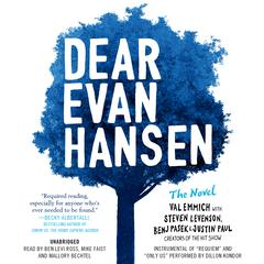 Dear Evan Hansen: The Novel by Val Emmich audiobook