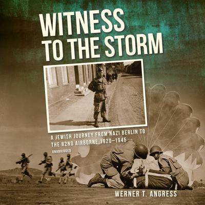Witness to the Storm by Werner T. Angress audiobook