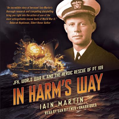 In Harm's Way by Iain  Martin audiobook