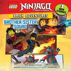 LEGO Ninjago: Brick Adventures #1: Brother/Sister Squad by Meredith Rusu audiobook