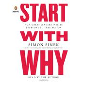 Start with Why by  Simon Sinek audiobook