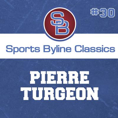 Sports Byline: Pierre Turgeon by Ron Barr audiobook